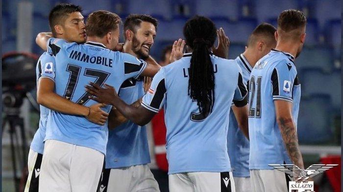HASIL Liga Italia - Tekuk Sampdoria, Lazio Kudeta Posisi Juventus dan Napoli di Klasemen Serie A