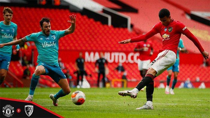UPDATE Skor Manchester United Vs Bournemouth - Gol Greenwood, Rashford dan Martial Bawa MU Unggul