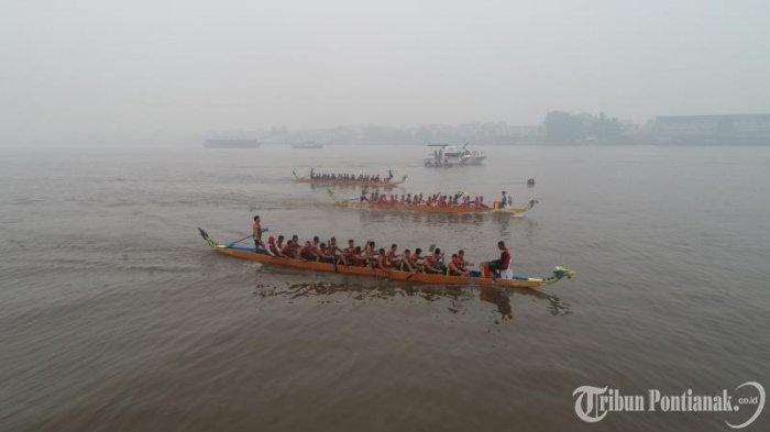 Dragon Boat Jadi Agenda Tahunan Pontianak, Edi Kamtono: Wujud Perkenalkan Pontianak ke Mancanegara