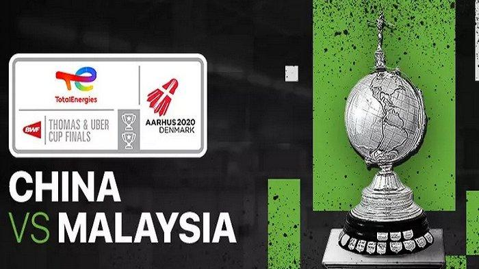 Hasil Thomas dan Uber Cup 2021 Hari Ini Minggu 10 Oktober 2021 India vs Spanyol, China vs Malaysia