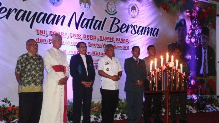 Perayaan Natal Bersama TNI Polri PNS BUMN dan BUMD Pensiunan Hingga Purnawirawan
