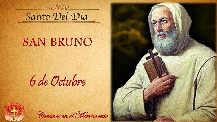 Perayaan Santo Bruno, Orang Kudus Katolik Hari Ini Rabu 6 Oktober 2021