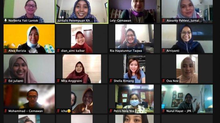 Suarakan Perempuan Untuk Mampu jadi Agen Perdamaian