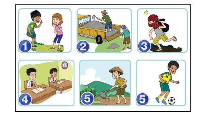 Soal dan Kunci Jawaban Buku Tematik Halaman 18 19 20 Tema 4 Kelas 4 Subtema 2 Pembelajaran 1