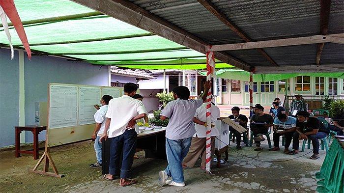 Hasil Pilkada Sambas - Petahana Unggul Tipis di TPS 002 Desa Tanjung Mekar