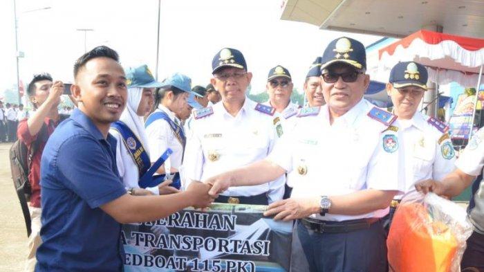 Gubernur Kalimantan Barat Pimpin Langsung Upacara Peringatan Hari Jadi Perhubungan ke 73 - perhubungan_20180917_163859.jpg