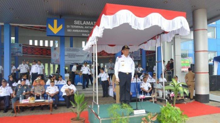 Gubernur Kalimantan Barat Pimpin Langsung Upacara Peringatan Hari Jadi Perhubungan ke 73 - perhubungan_20180917_164115.jpg