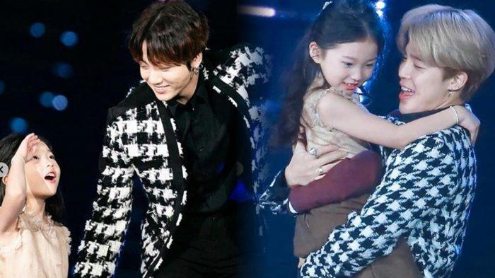 Perilaku Menggemaskan Jungkook & Jimin BTS pada Aktris Cilik di SBS Gayo Daejun 2019 Jadi Sorotan