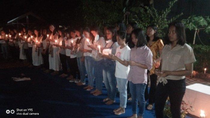 Lawan Perdagangan Orang, Kongregasi Suster SFD Gelar Ibadat Peringatan Santa Jhosepine Bhakita