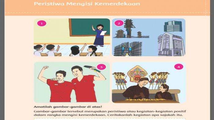 Peristiwa mengisi kemerdekaan buku tema 7 kelas 5 subetma 3 pembelajaran 1