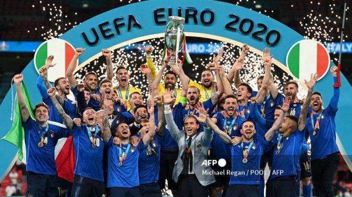 PERJALANAN Italia Juara EURO 2020 - Kutukan Pecah, Penantian 53 Tahun hingga Berkah Pemain Juventus
