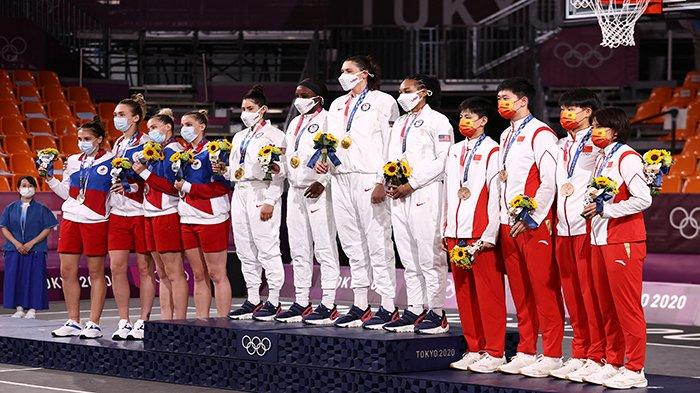 DAFTAR Medali Olimpiade Tokyo Jumat 30 Juli 2021 dan Jadwal Upacara Penutupan Olimpiade Tokyo 2020
