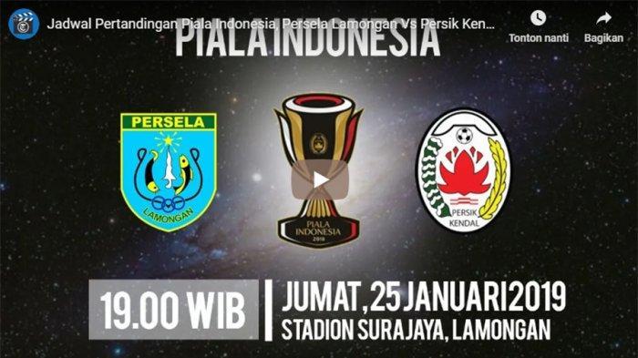 Live Streaming Persela Lamongan vs Persik Kendal Berlangsung Pukul 19.00 WIB