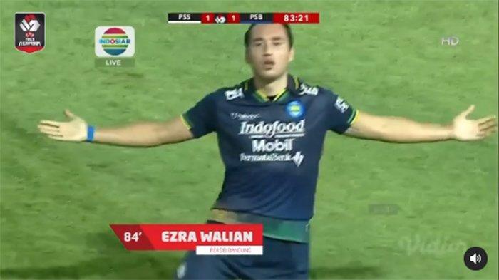 HASIL Persib vs PSS Tadi Malam - Tonton Video Gol Ezra Walian Penentu Lolos Final Duel Persija