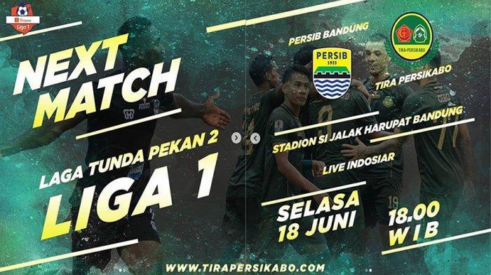 Prediksi Skor Persib Bandung Vs Tira Persikabo Shopee Liga 1 2019 Live Indosiar Jam 18.30 WIB