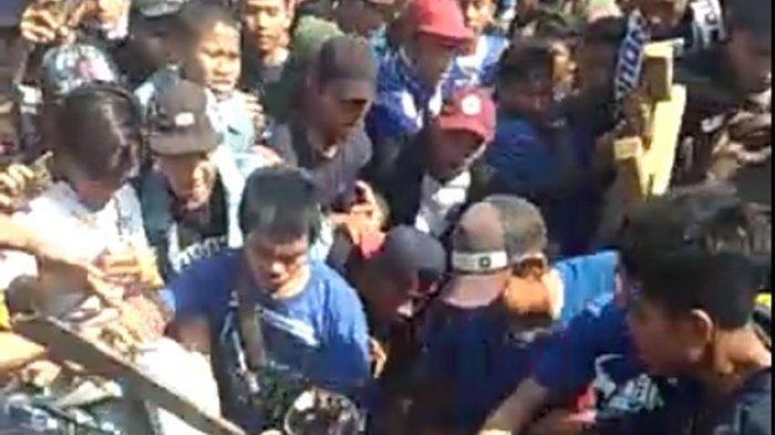 Beredar Video Pengeroyokan Haringga Sirilla sebelum Laga Persib vs Persija Jakarta