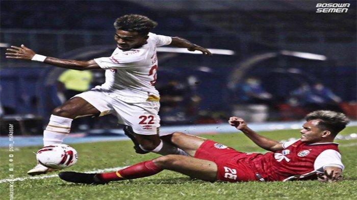 UPDATE SKOR Hasil PSM vs Persija Piala Menpora 2021 - Panas, Baru 4 Menit 4 Kartu Kuning, Skor 0-0