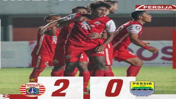 HASIL AKHIR Persib Vs Persija Malam Kamis 22 April, Skor Akhir Persija Vs Persib Final Piala Menpora