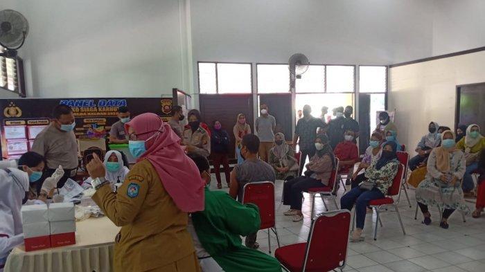 Polres Kubu Raya Buka Gerai Vaksinasi Massal Dosis ke- 2 untuk Personel Polri dan Masyarakat