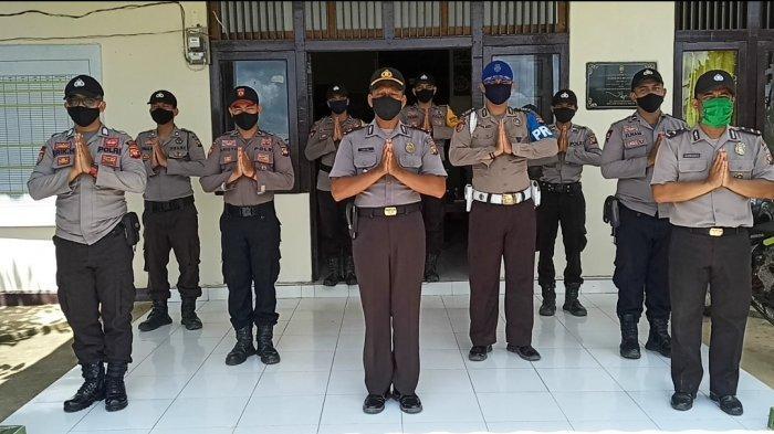 Polsek Belitang Sekadau Mengucapkan Selamat Hari Raya Idul Fitri 1 Syawal 1441 H