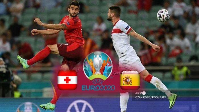LIVE Score Swiss Vs Spanyol Live Streaming EURO 2021 RCTI Malam Ini, Tv Online Gratis EURO 2021