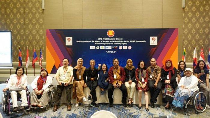 Pertemuan Regional AICHR di Bangkok, Angkie: IndonesiaPunya Perhatian Besar Isu Disabilitas