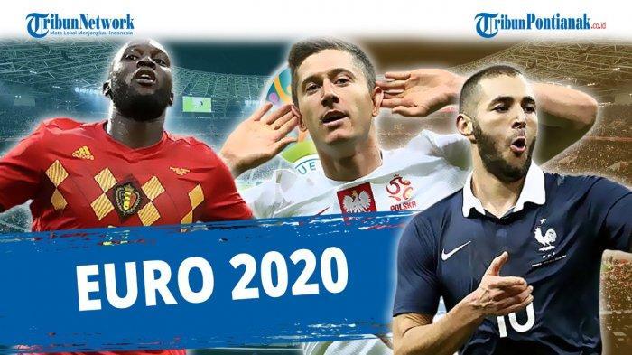 20 Pemain Haus Gol Tampil di EURO 2020! Ada Mbappe, Gareth Bale, Lukaku dan Lewandowski