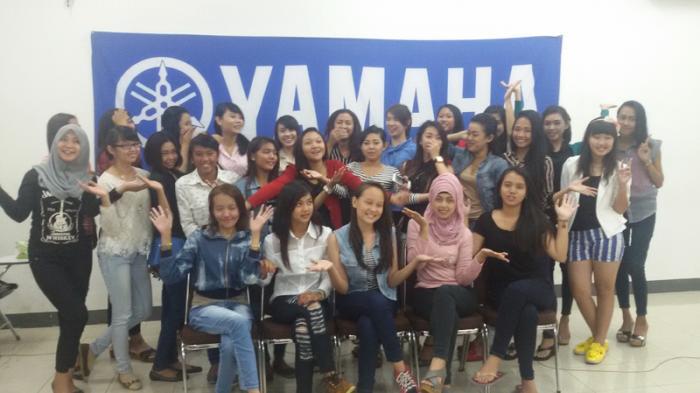 Konferensi Pers Yamaha Perkenalkan Tiga Motor Produk Terbaru