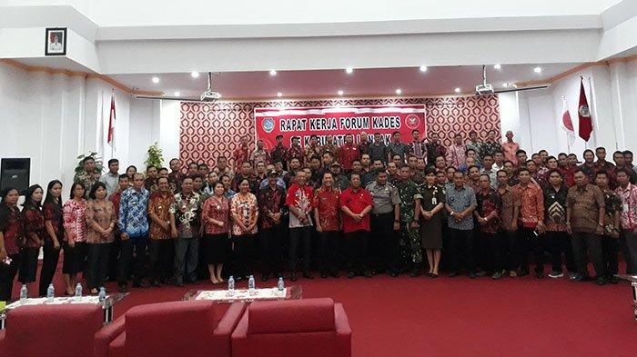 Ketua Forum Kades Landak Ajak Dukung Program Pemerintah