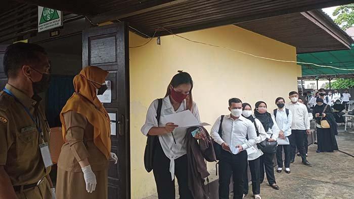 Hari Pertama Tes SKD CPNS di Mempawah, Puluhan Peserta Tidak Hadir