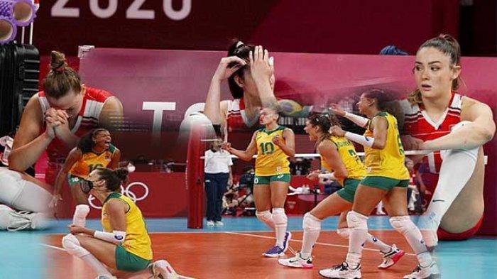 Tim Voli Putri Lolos Semifinal Olimpiade Tokyo 2020, 2 Tim Bakal Rebutan Juara