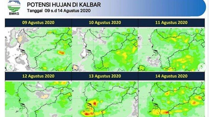 Curah Hujan Tinggi di Kalbar Sepanjang 2020, Disebabkan 3 ...