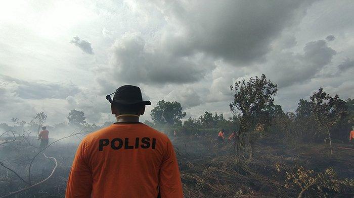 Tim Gabungan Berhasil Atasi Kebakaran Lahan di Kota Pontianak