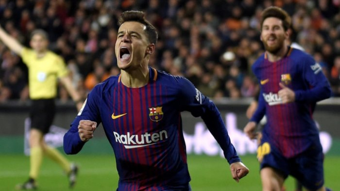 Jadwal Liga Spanyol 2021-Coutinho Kembali Berlatih Bersama Barcelona, Akankah Jadi Andalan Koeman ?
