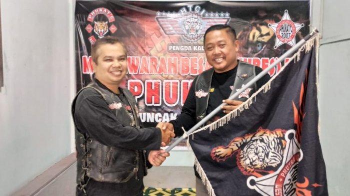 Dimas Jabat Ketua Phukatc Tiger Club Kapuas Hulu