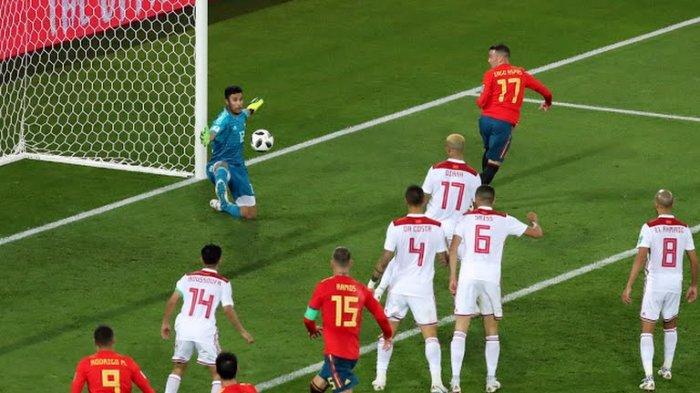 Bermain Imbang Spanyol Juarai Grup B Piala Dunia