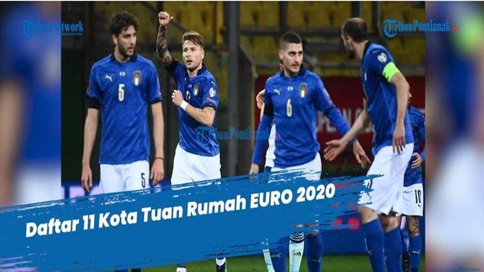 JADWAL Piala Eropa 2020 Grup A Italia Turki Swiss Wales Lengkap Klasemen Euro
