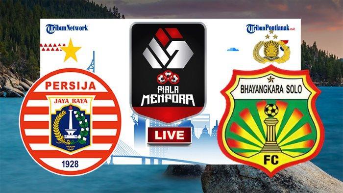 Ilustrasi Persija Jakarta vs Bhayangkara Solo FC
