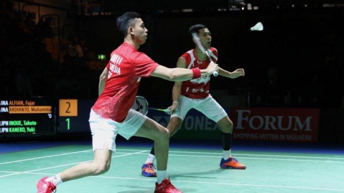 Hasil Piala Thomas 2018 - Langkah Indonesia ke Perempat Final Mulus Usai Kalahkan Thailand