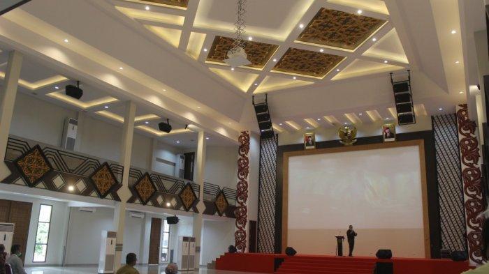 Pertama di Kalbar, Gedung Auditorium UPB Usung Tema Keberagaman dengan Fasilitas Semi Modern