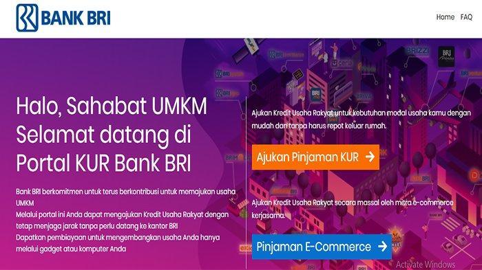 Cara Pengajuan Pinjaman KUR BRI Tanpa Agunan di Laman kur.bri.co.id - Kuota 2021 Sasar 57 Juta Usaha