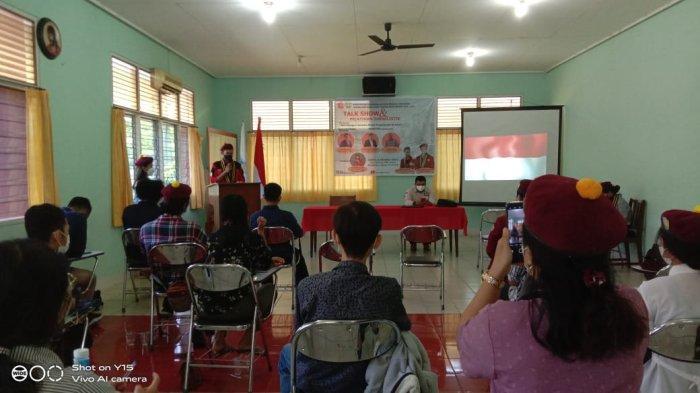 Persiapkan Jurnalis Muda, PMKRI Pontianak Gelar Talk Show dan Pelatihan Jurnalistik