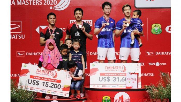 Daftar Juara Indonesia Masters 2020