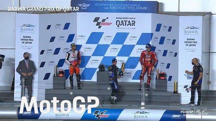 POIN MotoGP Update Klasemen MotoGP 2021 Hasil Race MotoGp Qatar 2021, Valentino Rossi 'Gigit Jari'