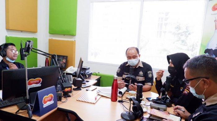 Polda Kalbar Sosialisasi Polri TV/Radio, Dumas Presisi dan Website PID serta Tribrata News Kalbar