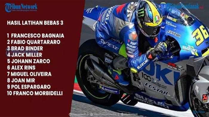URUTAN Start MotoGP Nanti Malam dan Jadwal Jam Tayang MotoGP Italia Hari Ini di Trans7