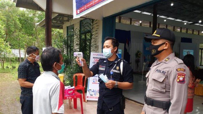 Cegah Penyebaran Covid-19, Polisi Monitoring Kegiatan Warga dan Ingatkan Disiplin Protokol Kesehatan