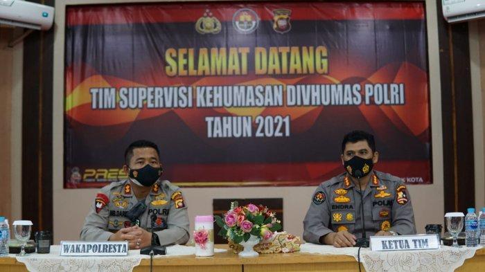 Tim Supervisi Div Humas Polri Kunjungan ke Polresta Pontianak Kota, Evaluasi Kinerja Kehumasan