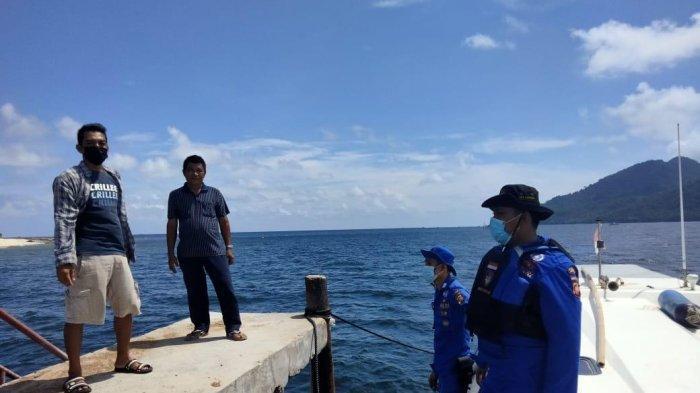 Patroli Sambang ke Pulau Lemukutan, Ini Pesat Yang Disampaikan Sat Polair Polres Bengkayang