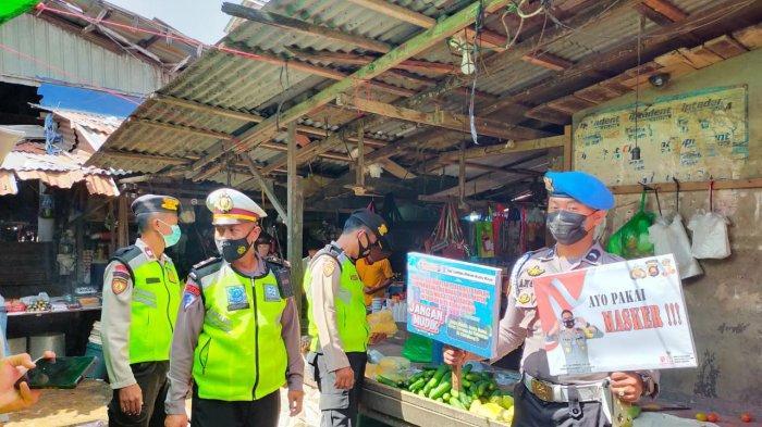 Operasi Keselamatan Kapuas 2021, Personel Polres Kubu Raya Imbau Prokes Covid-19 Kepada Masyarakat
